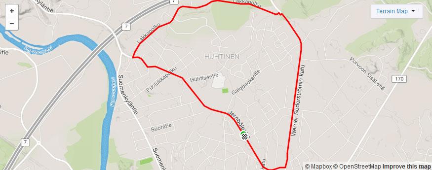 Ole Wackström route
